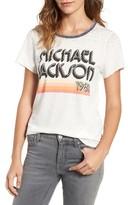 Junk Food Clothing Women's Michael Jackson Burnout Tee