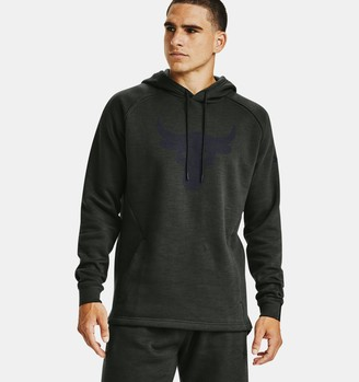 Under Armour Men's Project Rock Charged Cotton Brahma Hoodie