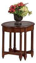 Progressive Canton Heights Oval End Table - Dark Berry Furniture