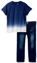 Hudson 2-Piece Pant & Tee Set (Toddler Boys)