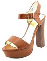 Material Girl Ciara Open Toe Synthetic Platform Heel.