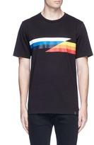 Rag & Bone 'Glitch' stripe print T-shirt