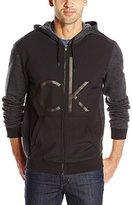 Calvin Klein Jeans Men's Ck Deboss Hoodie Fullzip