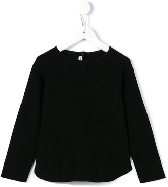 Babe And Tess chest pocket sweatshirt