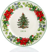 Spode Christmas Tree 2016 Annual Collector Plate