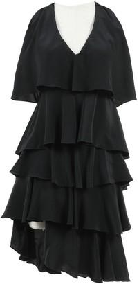 Jill Stuart Black Silk Dresses
