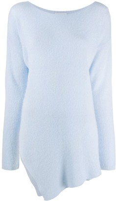 Dondup Asymmetric Hem Oversized Jumper