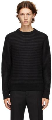 Saint Laurent Black Sailor Knit Sweater