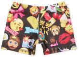 Zara Terez Girls 4-6x) Emoji Print Dance Shorts