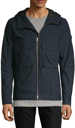 J. Lindeberg Full-Zip Hooded Jacket