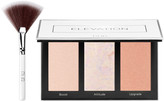 PUR Cosmetics Elevation Mini Highlighter & Cheek Palette w/ Fan Brush