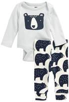 Tea Collection Bear Bodysuit & Pants Set
