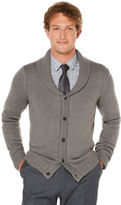 Perry Ellis 5 Button Shawl Collar Cardigan