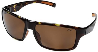 Zeal Optics Incline (Tortoise w/ Polarized Copper Lens) Athletic Performance Sport Sunglasses
