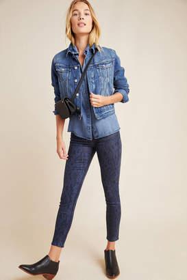 Joe's Jeans The Charlie Coated High-Rise Skinny Jeans
