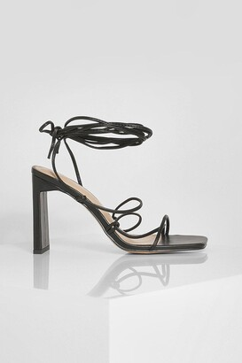 boohoo Flat Heel Strappy Sandal