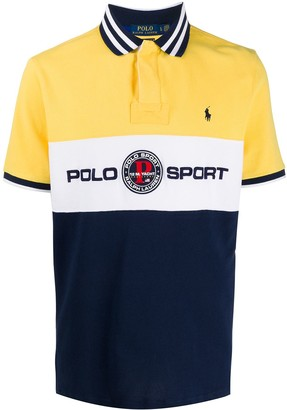 Polo Ralph Lauren Logo Print Polo Shirt