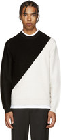 Paul Smith Black & Ivory Merino Sweater