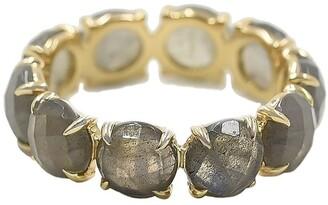 BONDEYE JEWELRY 14kt Yellow Gold Labradorite Ring