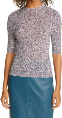 HUGO BOSS Filiona Dot Half Sleeve Sweater