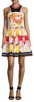 Mary Katrantzou Party Floral Print Fit And Flare Dress