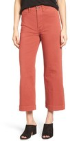 MiH Jeans Women's Caron Crop Wide Leg Jeans