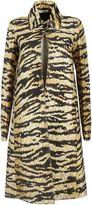 Celine Tiger Print Dress