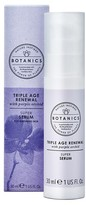 Botanics Triple Age Renewal Facial Serum 1 oz