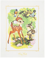 Disney Bambi and Thumper Deluxe Print