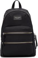 Marc Jacobs Black Multi-zip Backpack