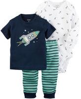 Carter's 3-Piece Babysoft Bodysuit & Pant Set