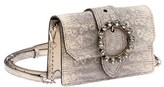 Miu Miu Women's Grey Leather Shoulder Bag.