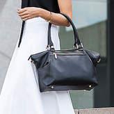 NEW Midnight Madrid Black Leather Handbag Women's by ZURII