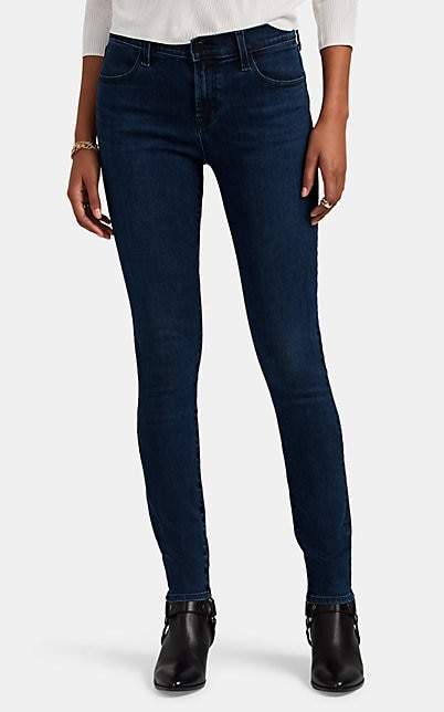 J Brand Women's 620 Super Skinny Jeans - Blue
