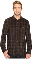 True Grit Sueded Checks Long Sleeve Two-Pocket Shirt