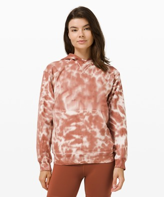 Lululemon All Yours Hoodie Tie Dye *Fleece