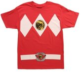 Mighty Fine Mighty Morphin Power Rangers Men's Costume T-Shirt