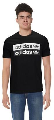 adidas Reveal Your Voice Logo T-Shirt - Black / White