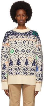 Ader Error Off-White Adergyle Sweater
