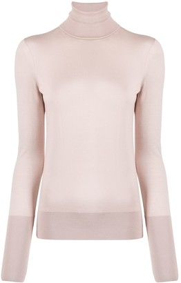 Victoria Beckham Slim-Fit Turtleneck Knit
