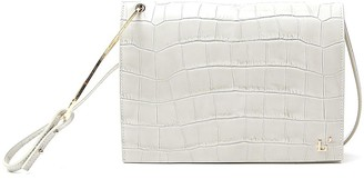 L'Autre Chose Embossed Foldover Crossbody Bag