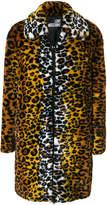 Love Moschino leopard print coat