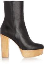 Stella McCartney Faux leather platform boots