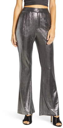 Endless Rose Textured Flared Pants