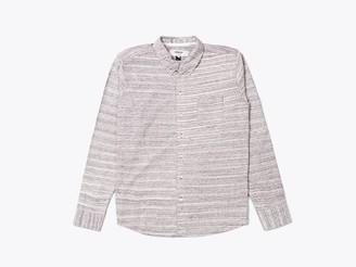 Wemoto Shirt Shaw Mel Burgundy Melange - S