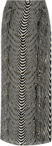 Lenny Niemeyer Zebra-Print Silk-Chiffon Sarong