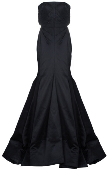 Thumbnail for your product : Roberto Cavalli Black Silk Evening Gown M
