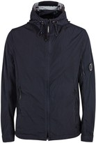 C.p. Company Chrome Navy Hooded Shell Jacket