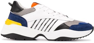DSQUARED2 Stripe Layered Trainers