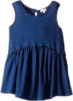 Splendid Littles Indigo w/ Lace Trim Swing Top Girl's Clothing